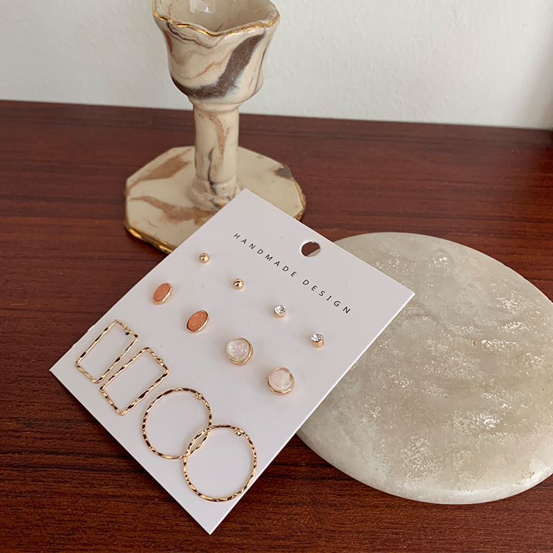 파셀트 earring set